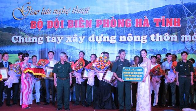 Bộ đội Biên phòng Hà Tĩnh kêu gọi được các đơn vị, tổ chức, cá nhân ủng hộ xây dựng NTM